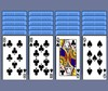 Náhled hry - Spider solitaire